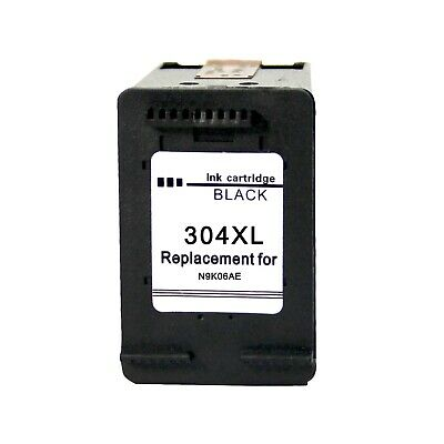 304XL Ink Cartridge Black for HP Deskjet 2630 2632 2633 2634 3720 3730 3733 3735