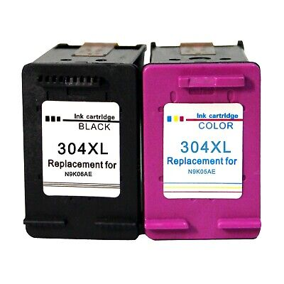 Cartuchos de tinta for HP 304 XL Deskjet 2630 2632 2633 2634 3720 3730 3733 3735