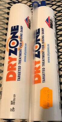 5xTubes Dryzone Dpc Injection Cream 310ml | Damp Proof Injection Cream