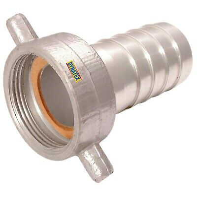 """BSP Coupling Water Pump 2 1/2"""" Female Hose Tail Connector 64mm Suction Layflat"""