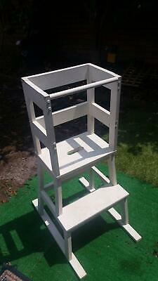 Child's Learning Tower - White