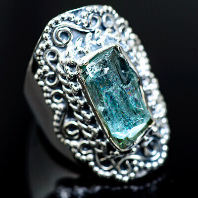 Aquamarine 925 Sterling Silver Ring Size 6.25 Ana Co Jewelry R988917F