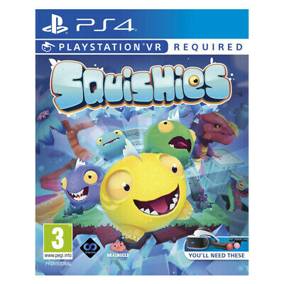 Squishies PlayStation PS4 PSVR 2019 EU English Factory Sealed