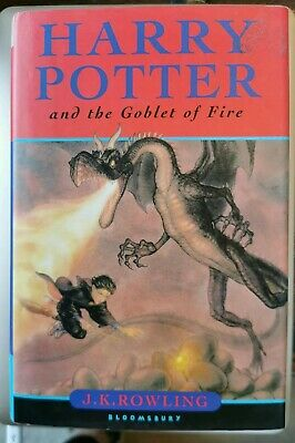 Harry Potter and the Goblet of Fire (2000, Hardback) 1st first edition 1st print