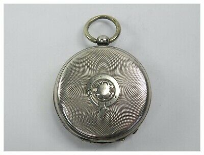 Antique late 19th century .800 Continental silver pocket watch case