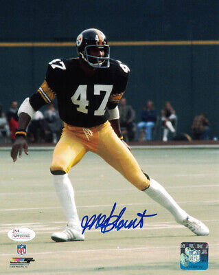 Mel Blount Autographed/Signed Pittsburgh Steelers 8x10 Photo JSA 20286 PF
