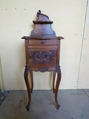 French Louis XV style bedside cabinet (HS152)