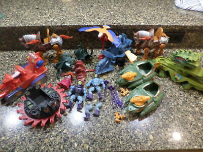 1980s he-man masters of the universe toy lot..