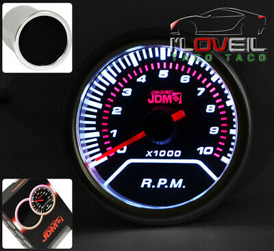 Tachometer Rpm Gauge Led Display Monitor Smoke Lens For 240Sx Sentra Maxima Gtr