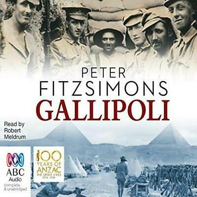 Gallipoli by Peter FitzSimons - (Audiobook)