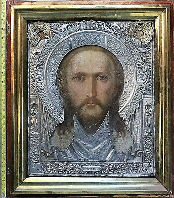 Antique Russian Icon Large Hand Made Museum Only One In The World 19 Century