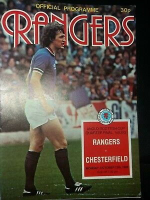 Image result for anglo-scottish cup 1981 chesterfield