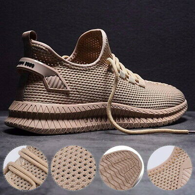 Mens Lightweight Trainers Breathable Sports Running Gym Sneakers Athletic Shoes,