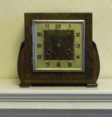 Vintage Deco Chime pendulum mantle clock, Spares or Repair
