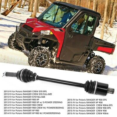 REAR LEFT and RIGHT CV JOINT AXLES Fits POLARIS RANGER CREW 900-5 EPS 2016