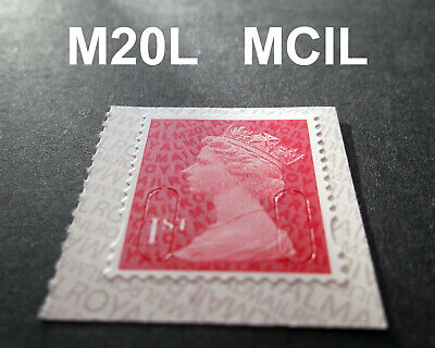 2020 1st Class Red M20L + MCIL Machin - SINGLE MINT STAMP U2968g