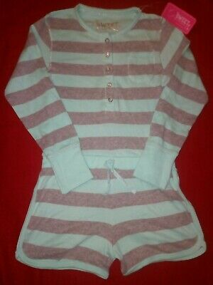 Bnwt Primark Sweet Dreams Girls Aqua Sleepsuit All In One 7-8 Years