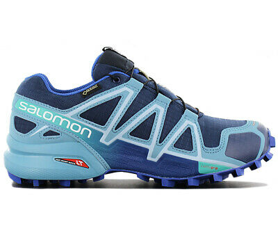 salomon speedcross 4 gtx damen grau
