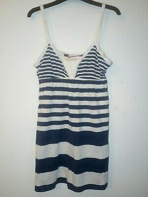 Bnwt Primark Young Dimension Girls Striped Vest Top 7-8 Years 128cm