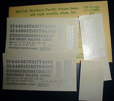 PE EH-215 ELECTRIC LOCOMOTIVE HO SCALE DECALS PACIFIC ELECTRIC CHAMP