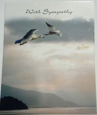 JUST 25p! SYMPATHY CARDS  X 12 , GREAT QUALITY, BOARD AND ENVELOP[ES (B694