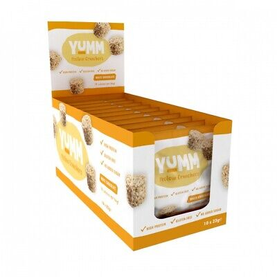 Protein Dynamix Mini Protein Bars Yumm Cluster Crunchers Boxes Of 10 Or 20 Bars