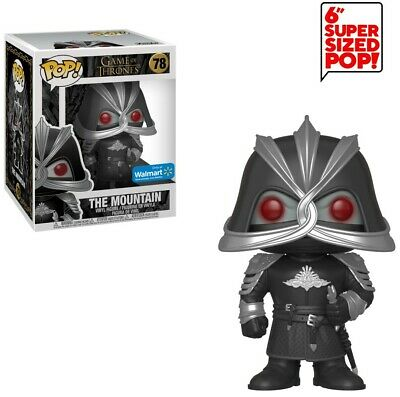 Funko Game of Thrones POP! TV The Mountain 6-Inch Vinyl Figure #78 [Super-Sized]
