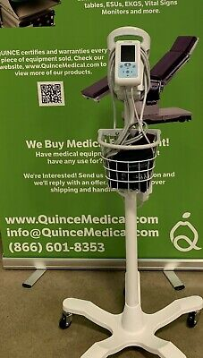 Welch Allyn ProBP 3400 Digital BP Device w/ Mobile Stand & 2 cuffs