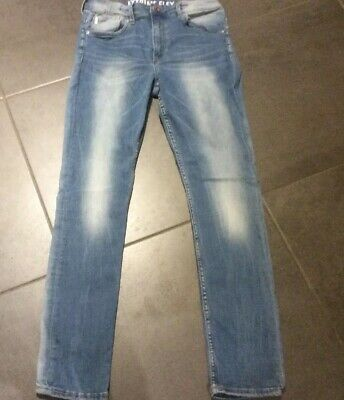 H&M Super Skinny Fit Denim Boys Jeans Ajustable Waist Age 12/13 Years