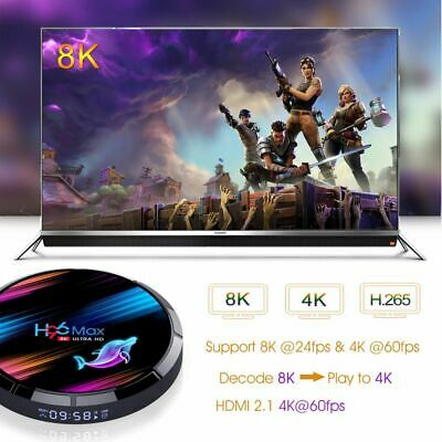 Torntisc H96max X3 Amlogic S905X3 Smart TV Box Android 9.0 RAM 4G ROM UP TO 128G
