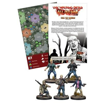 The Walking Dead BNIB Fear The Hunters Expansion MGWD026