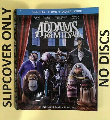 The Addams Family (2020) - Blu-ray Slipcover ONLY - NO DISCS