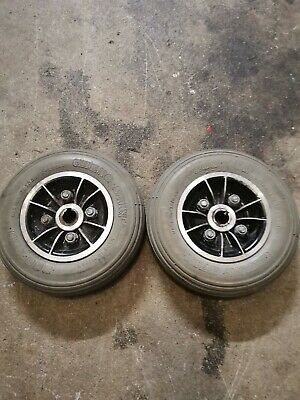 Wheeltech Rio 3 Mobility Scooter Rear Wheels Pair Of