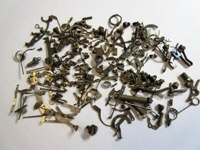 LARGE JOB LOT of ANTIQUE POCKET, WRIST WATCH PARTS FOR THE WATCHMAKER, REPAIRER!