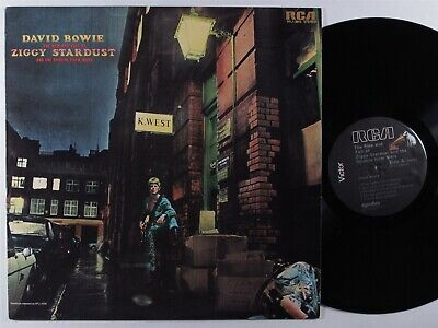 DAVID BOWIE The Rise & Fall Of Ziggy Stardust RCA VICTOR AYL-1-3843 LP VG++ >