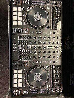 Denon MC7000 4-Channel DJ Controller Digital Mixer with Dual USB With Case