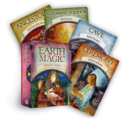 Magic Earth Oracle Read Fate Tarot Game Personal Use Board 48card Deck Guidebook