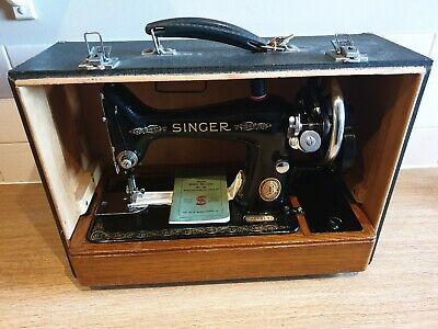 1952 Singer 99K Hand Crank Sewing Machine, Just Had £49 Service , Good Condition
