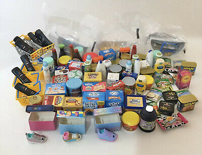 Huge Lot of Shopkins Real Littles & Zuru 5 Surprise Mini Brands Miniatures