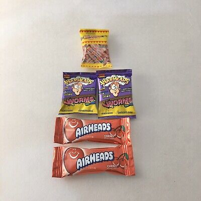 Lot of Warheads Worms, Smarties - Zuru 5 Surprise Mini Brands Miniatures - New!