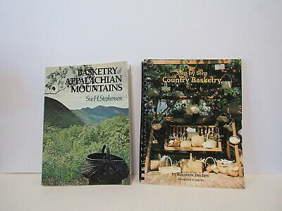 Lot of 2 Basketry Instruction Books