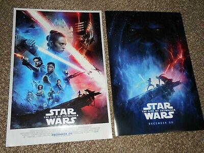 Star Wars The Rise of Skywalker 13.5x20 Promo D/S Movie POSTER