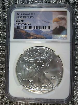 First Releases NGC MS70 2015- W WP Star Retro American Silver Eagle