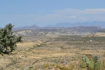 Sw Texas Land 20 Acres Stunning Big Bend Terlingua Chisos Mountains Ghost Town
