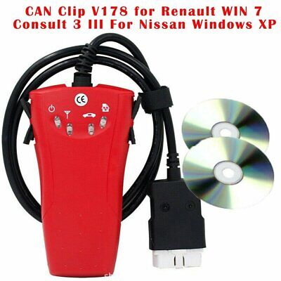 CAN Clip V178 and Consult 3 III 2 in 1 OBD2 - Car Diagnostic Instrument Tools