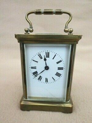 Antique French Bayard Brass Carriage Clock For Tlc
