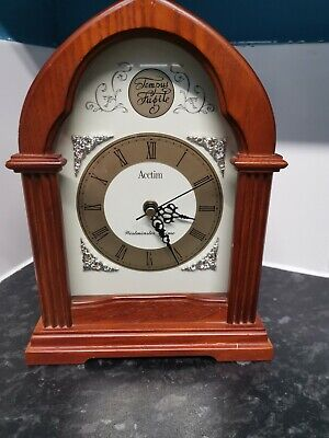 Acctim Westminster Chime Tempus Fugite Mantle Clock