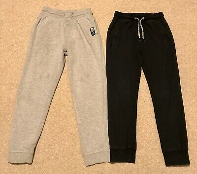 2 X Pairs Of Boys Joggers Age 9 Yrs - Next And F&F