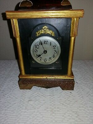 Antique, Badische, Alarm Clock, Very Nice, Well Used Condition. For Restoration.
