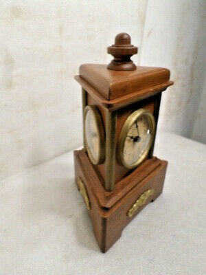 Three Sided Mechanical Signed German Clock With 3 Dials